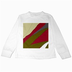 Decoratve abstraction Kids Long Sleeve T-Shirts
