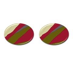 Decoratve abstraction Cufflinks (Oval)