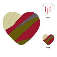 Decoratve abstraction Playing Cards (Heart)