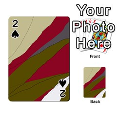 Decoratve abstraction Playing Cards 54 Designs