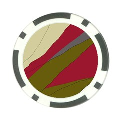 Decoratve abstraction Poker Chip Card Guards