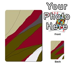 Decoratve abstraction Multi-purpose Cards (Rectangle)
