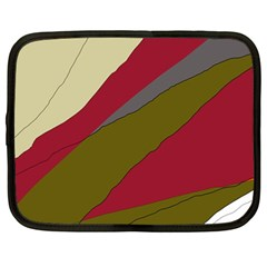 Decoratve abstraction Netbook Case (Large)