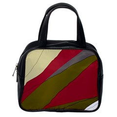 Decoratve abstraction Classic Handbags (One Side)