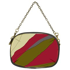 Decoratve abstraction Chain Purses (One Side)