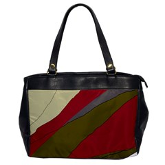 Decoratve abstraction Office Handbags