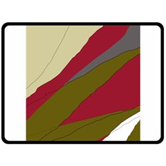 Decoratve abstraction Fleece Blanket (Large)