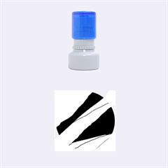 Decoratve Abstraction Rubber Round Stamps (small)