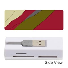 Decoratve abstraction Memory Card Reader (Stick)