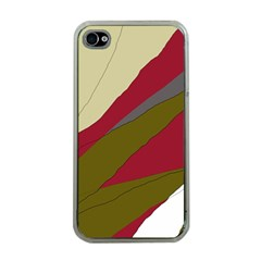 Decoratve abstraction Apple iPhone 4 Case (Clear)