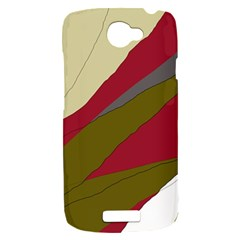 Decoratve abstraction HTC One S Hardshell Case