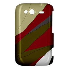 Decoratve abstraction HTC Wildfire S A510e Hardshell Case