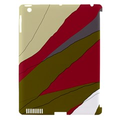Decoratve abstraction Apple iPad 3/4 Hardshell Case (Compatible with Smart Cover)