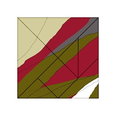 Decoratve abstraction Acrylic Tangram Puzzle (4  x 4 )