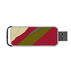 Decoratve abstraction Portable USB Flash (Two Sides)