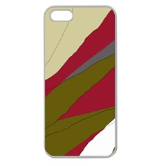 Decoratve abstraction Apple Seamless iPhone 5 Case (Clear)
