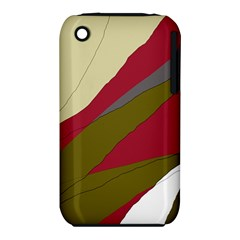 Decoratve abstraction Apple iPhone 3G/3GS Hardshell Case (PC+Silicone)