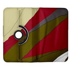 Decoratve abstraction Samsung Galaxy Note II Flip 360 Case