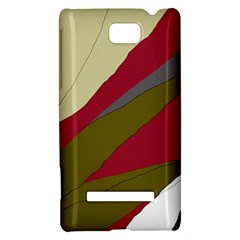 Decoratve abstraction HTC 8S Hardshell Case