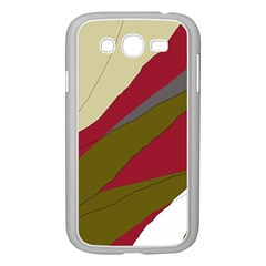 Decoratve abstraction Samsung Galaxy Grand DUOS I9082 Case (White)