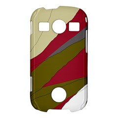 Decoratve abstraction Samsung Galaxy S7710 Xcover 2 Hardshell Case