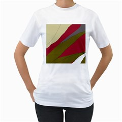 Decoratve abstraction Women s T-Shirt (White)