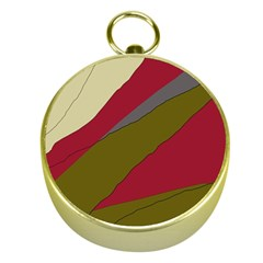 Decoratve abstraction Gold Compasses