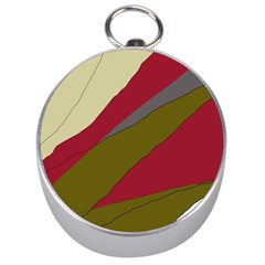 Decoratve abstraction Silver Compasses