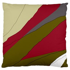 Decoratve abstraction Large Flano Cushion Case (One Side)