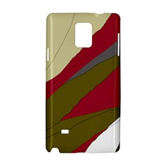 Decoratve abstraction Samsung Galaxy Note 4 Hardshell Case