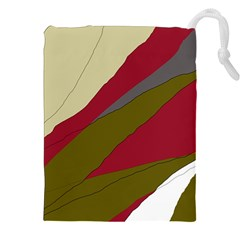 Decoratve abstraction Drawstring Pouches (XXL)