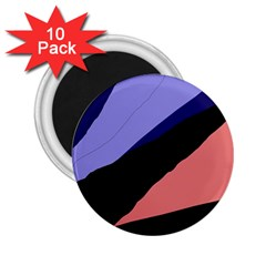 Purple and pink abstraction 2.25  Magnets (10 pack)