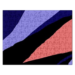 Purple and pink abstraction Rectangular Jigsaw Puzzl