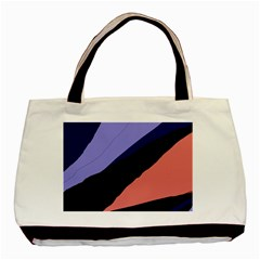 Purple and pink abstraction Basic Tote Bag (Two Sides)
