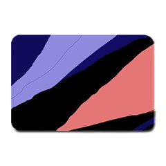 Purple and pink abstraction Plate Mats