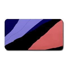 Purple and pink abstraction Medium Bar Mats