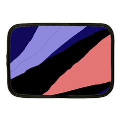 Purple and pink abstraction Netbook Case (Medium)