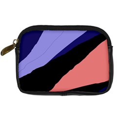 Purple and pink abstraction Digital Camera Cases