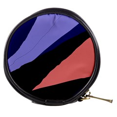 Purple and pink abstraction Mini Makeup Bags