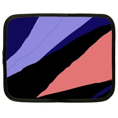 Purple and pink abstraction Netbook Case (XXL)