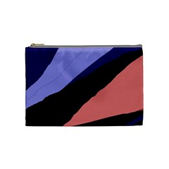Purple and pink abstraction Cosmetic Bag (Medium)