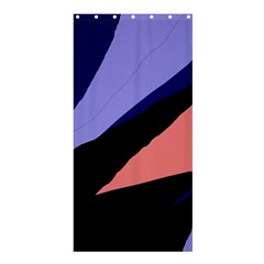 Purple and pink abstraction Shower Curtain 36  x 72  (Stall)