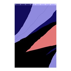 Purple and pink abstraction Shower Curtain 48  x 72  (Small)
