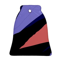Purple and pink abstraction Ornament (Bell)
