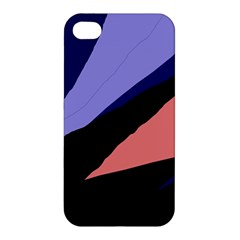 Purple and pink abstraction Apple iPhone 4/4S Hardshell Case
