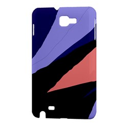 Purple and pink abstraction Samsung Galaxy Note 1 Hardshell Case
