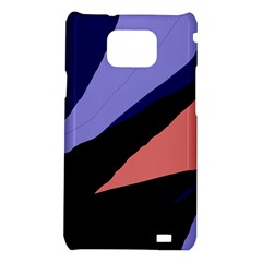 Purple and pink abstraction Samsung Galaxy S2 i9100 Hardshell Case