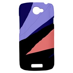 Purple and pink abstraction HTC One S Hardshell Case