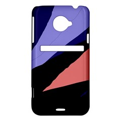 Purple and pink abstraction HTC Evo 4G LTE Hardshell Case