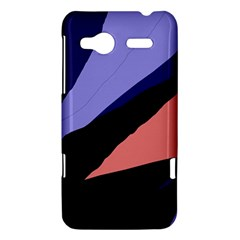 Purple and pink abstraction HTC Radar Hardshell Case
